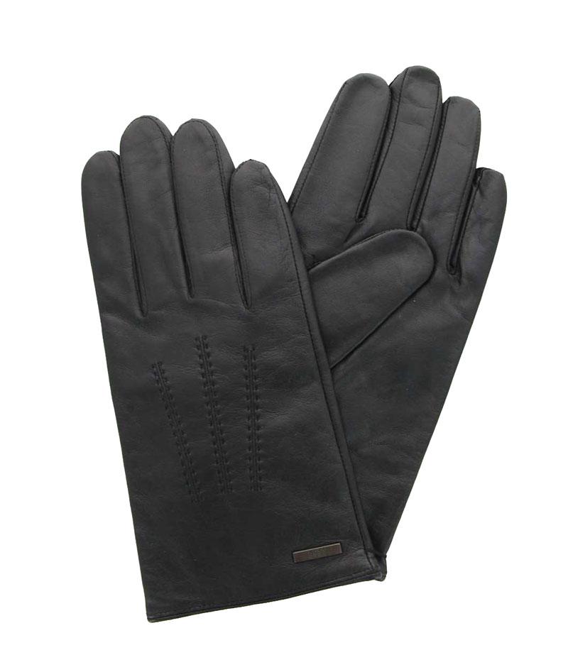 Hugo Boss gloves  HAINZ3 LAMMLEDER SCHWARZ