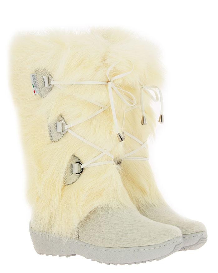 Oscar fur boots JULIA BIANCO
