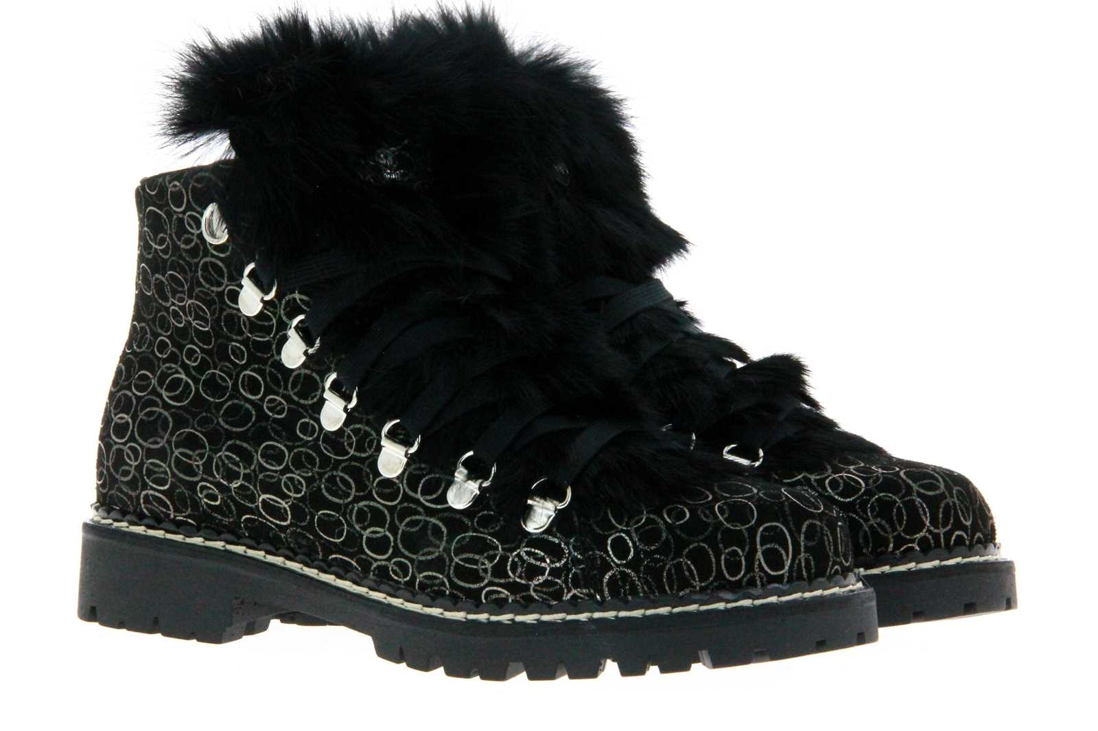 Oscar Sport lace-up boots B-600-GU NERO