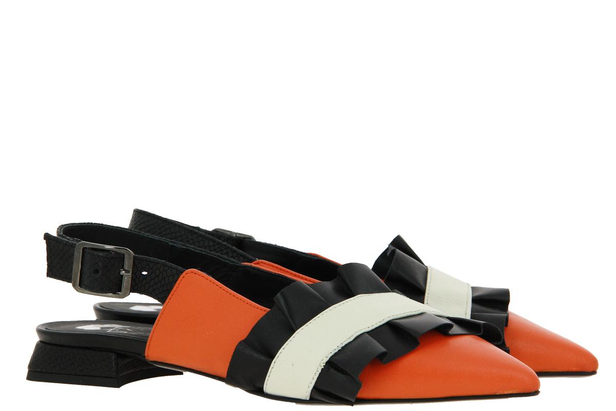 Kate Libertine sling pumps ZUCCA NERO BURRO