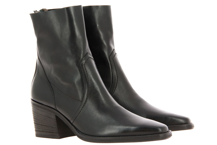 Paul Green ankle boots STAR CALF BLACK