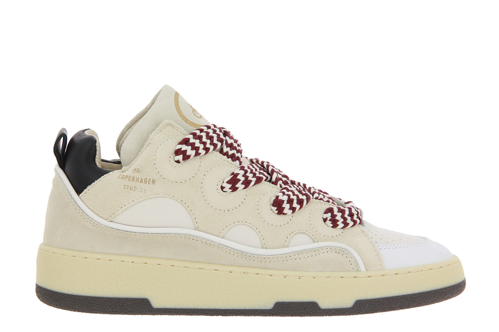 Copenhagen sneaker CPH201 LEATHER MIX NATURE