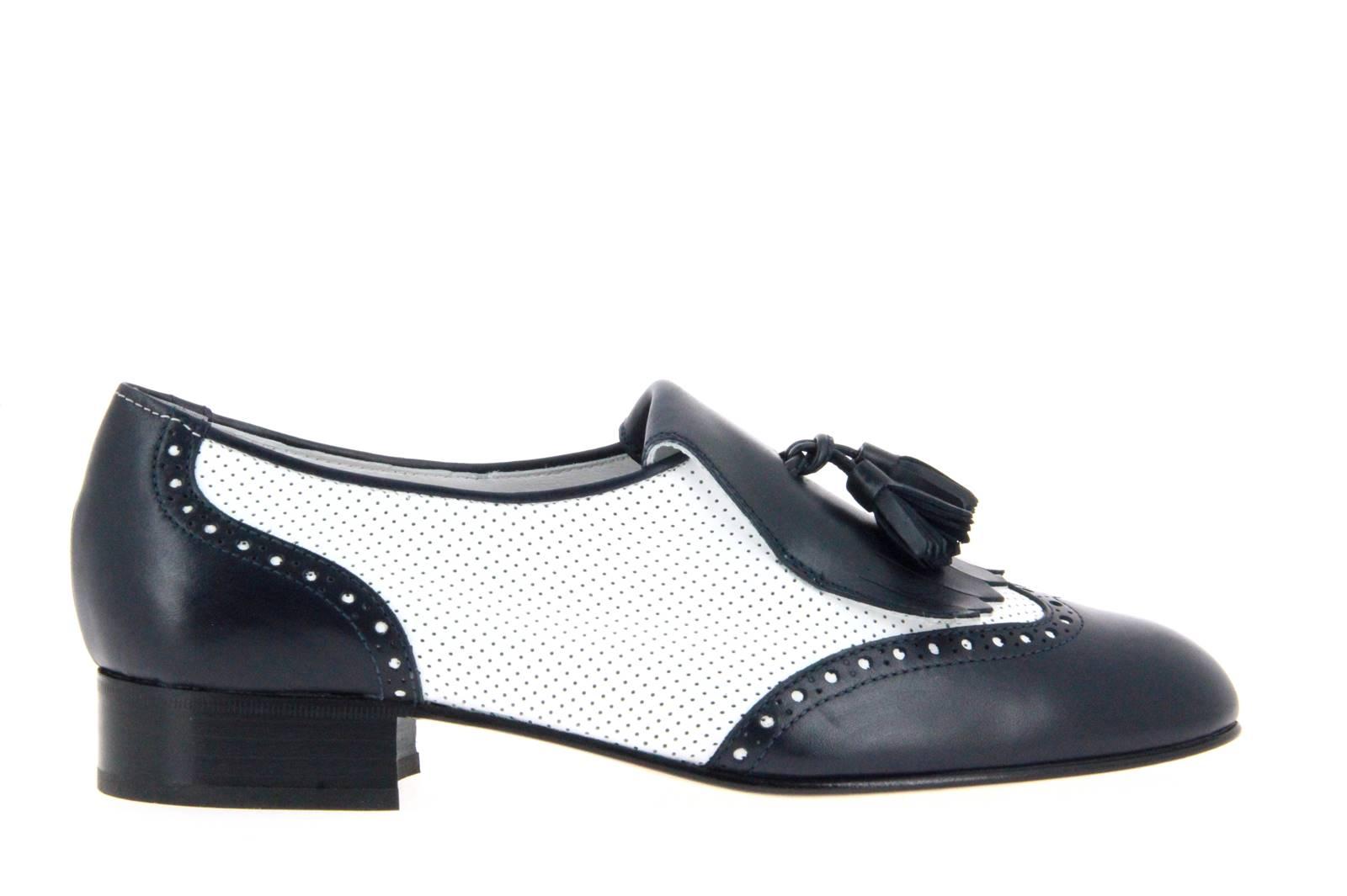 Maretto loafer BIANCO NERO