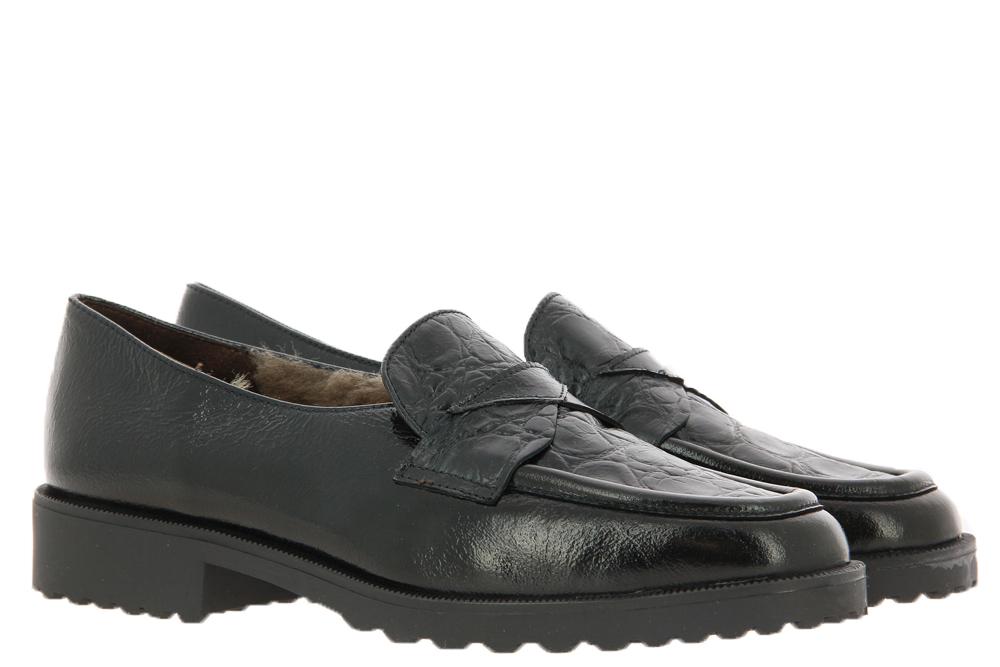 Brunate slipper lined DANY URANO NERO
