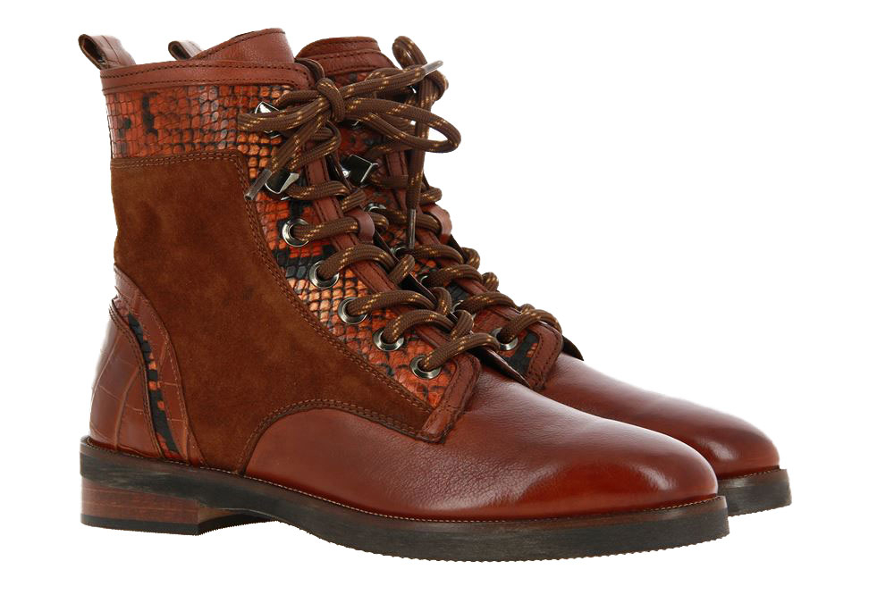 Maripe ankle boots GINGER CAMOSCIO COGNAC
