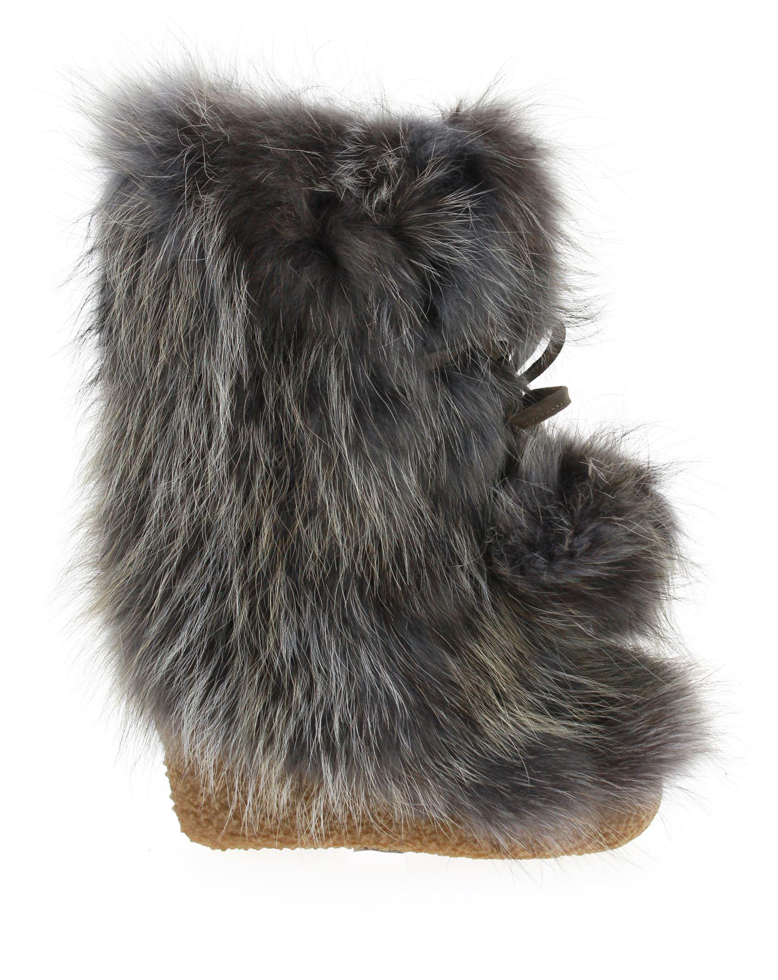 Diavolezza fur boots TALPA FOX