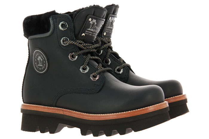 Panama Jack ankle boots lined MUNSTER IGLOO NAPA GRASS NEGRO