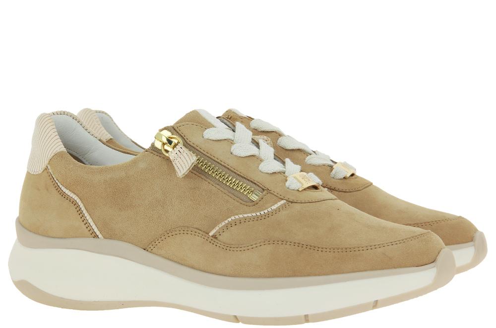 Hassia sneaker MONACO H-Weite VARIO CREME