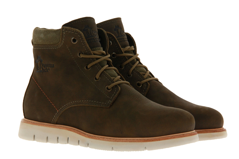 Panama Jack ankle boots lined TYSON IGLOO C1 NOBUCK KAKI