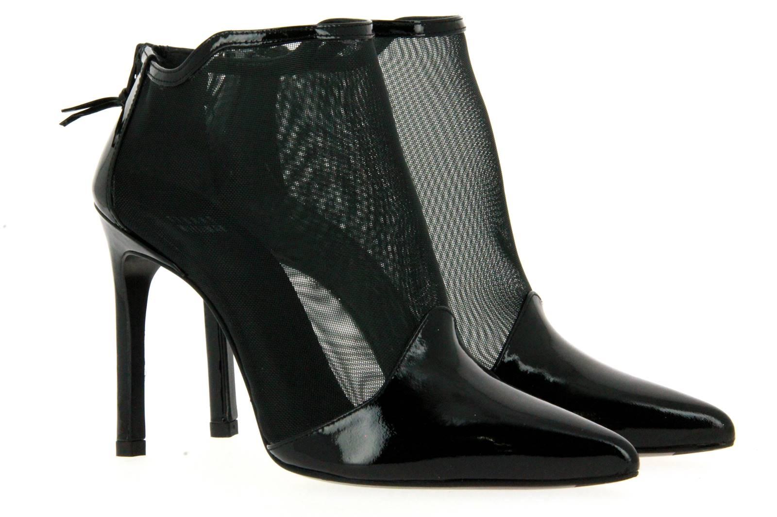 Stuart Weitzman ankle boots RETE BLACK PATENT