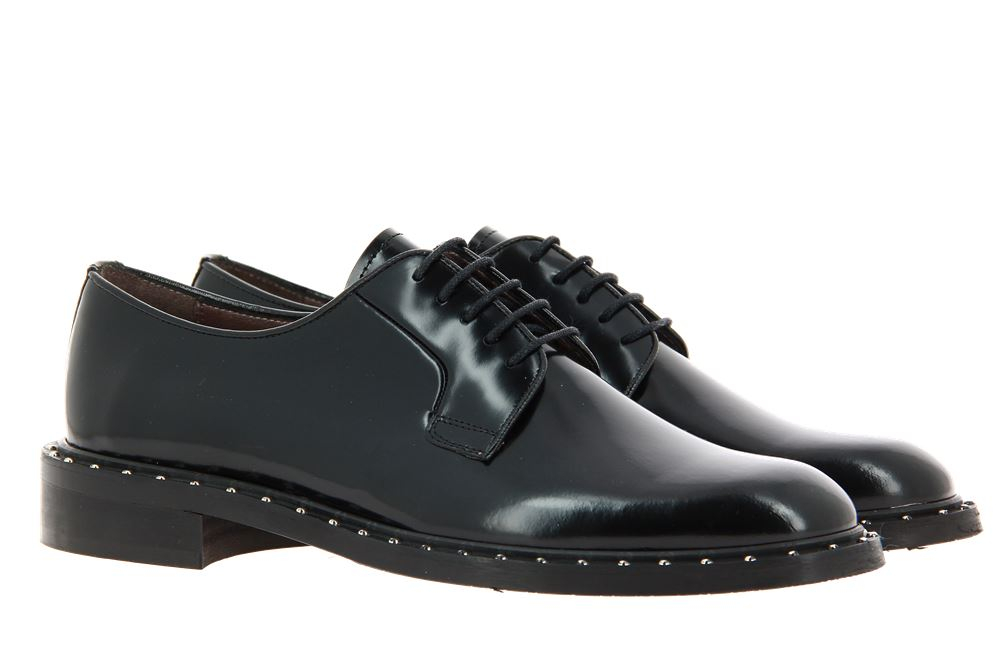 Pertini lace-up PALMA BLACK