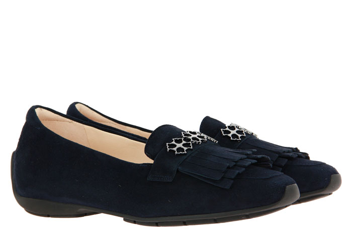 Peter Kaiser moccasin ALICE SUEDE NAVY