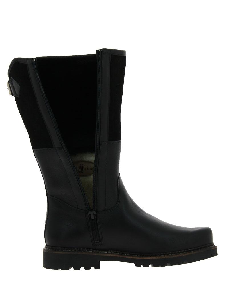 dirndl + bua boots lined PANIOLO VELOUR SCHWARZ