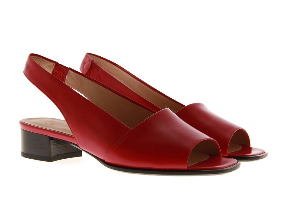 Pas de rouge sandal SOFTY ROSSO