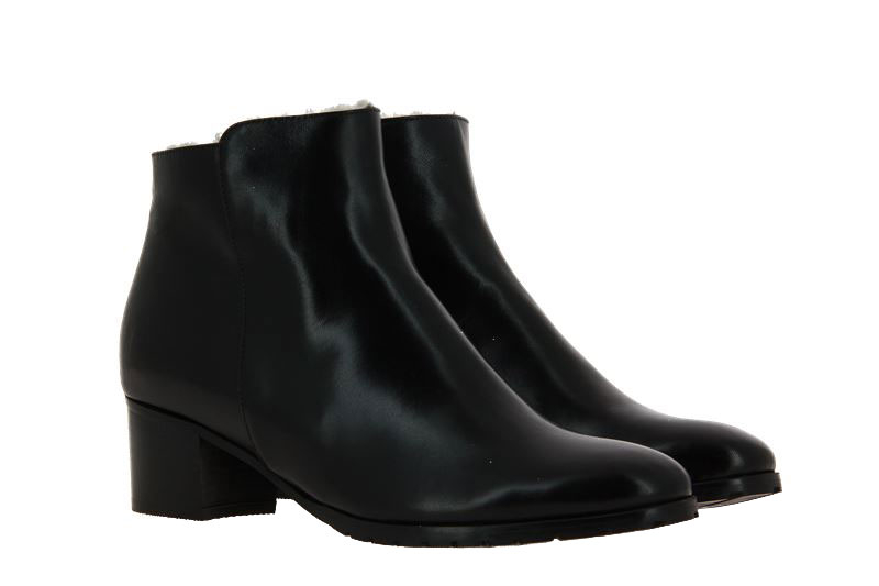 Luca Grossi ankle boots lined NATUR NERO