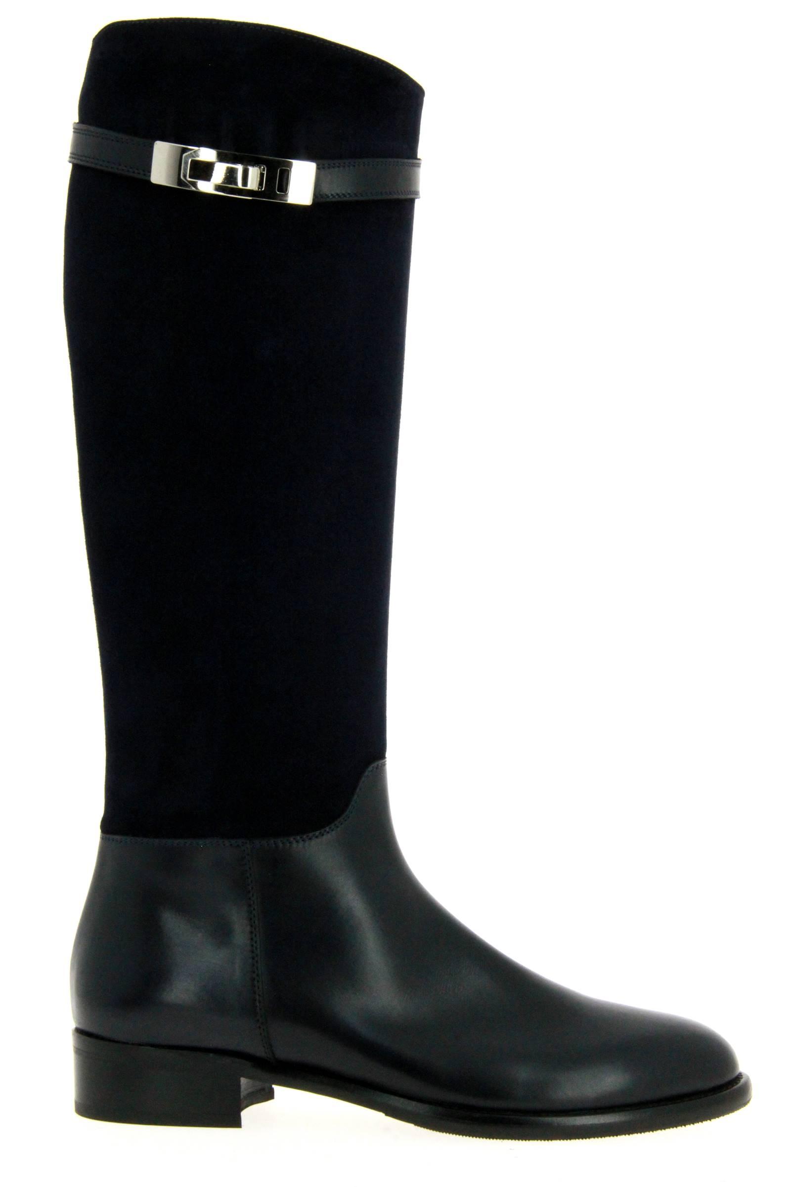 Maretto boots BLEU CAMOSCIO