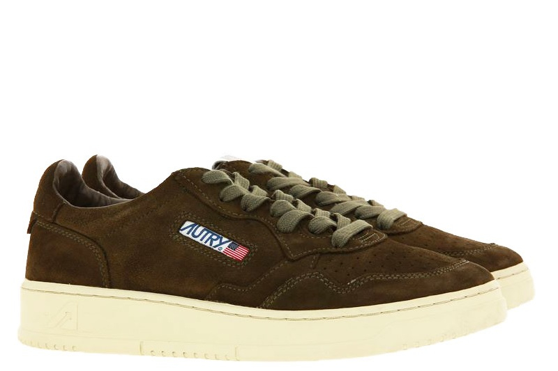 Autry sneaker LOW MAN SUEDE MILITARY