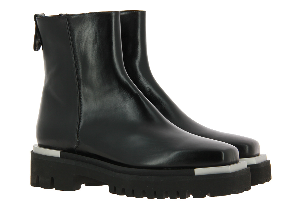 Truman's ankle boots LEATHER NAPPA NERO