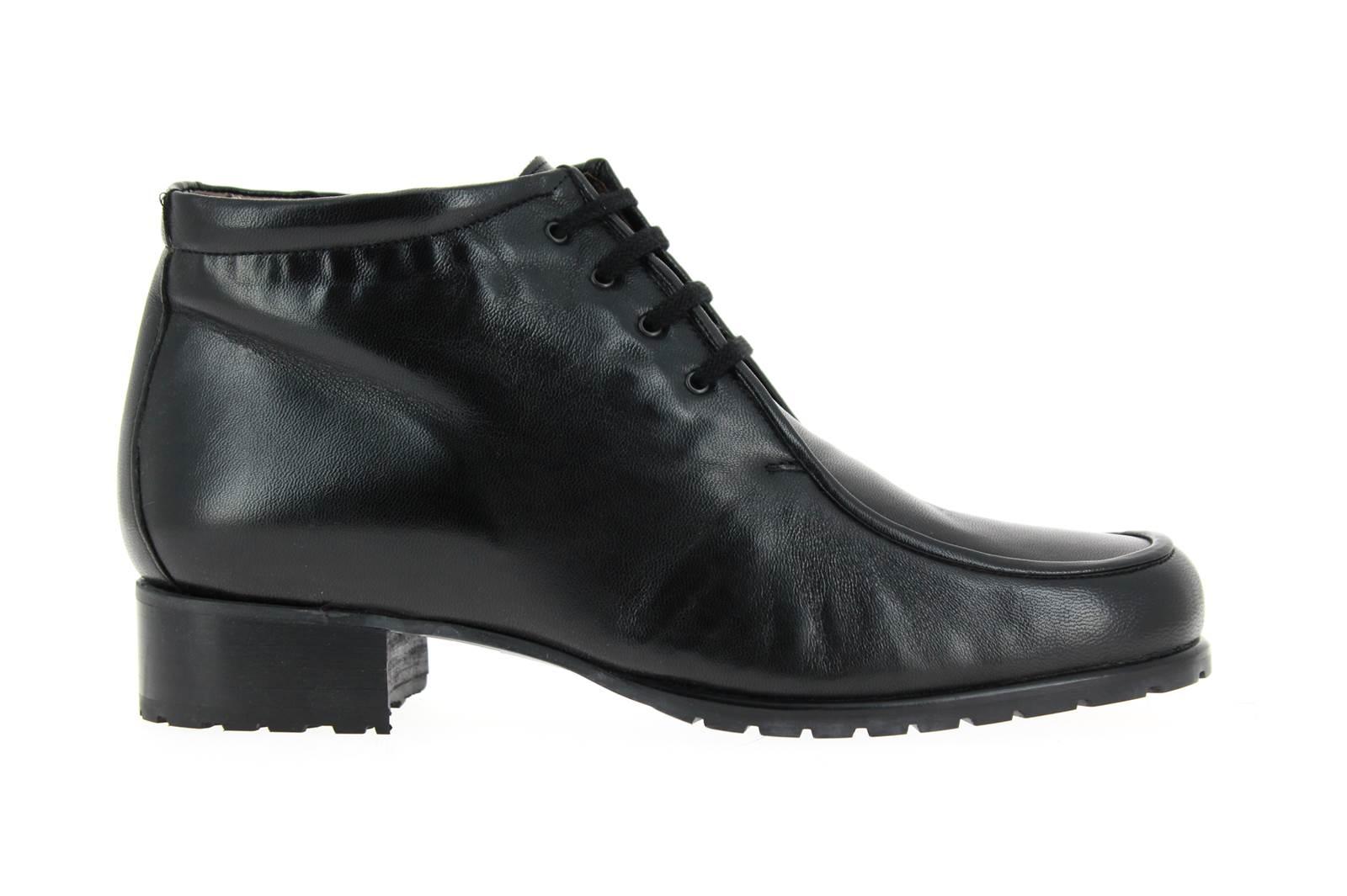 Gabriele Ankle Boot NAPPA NERO AGNELLO MID