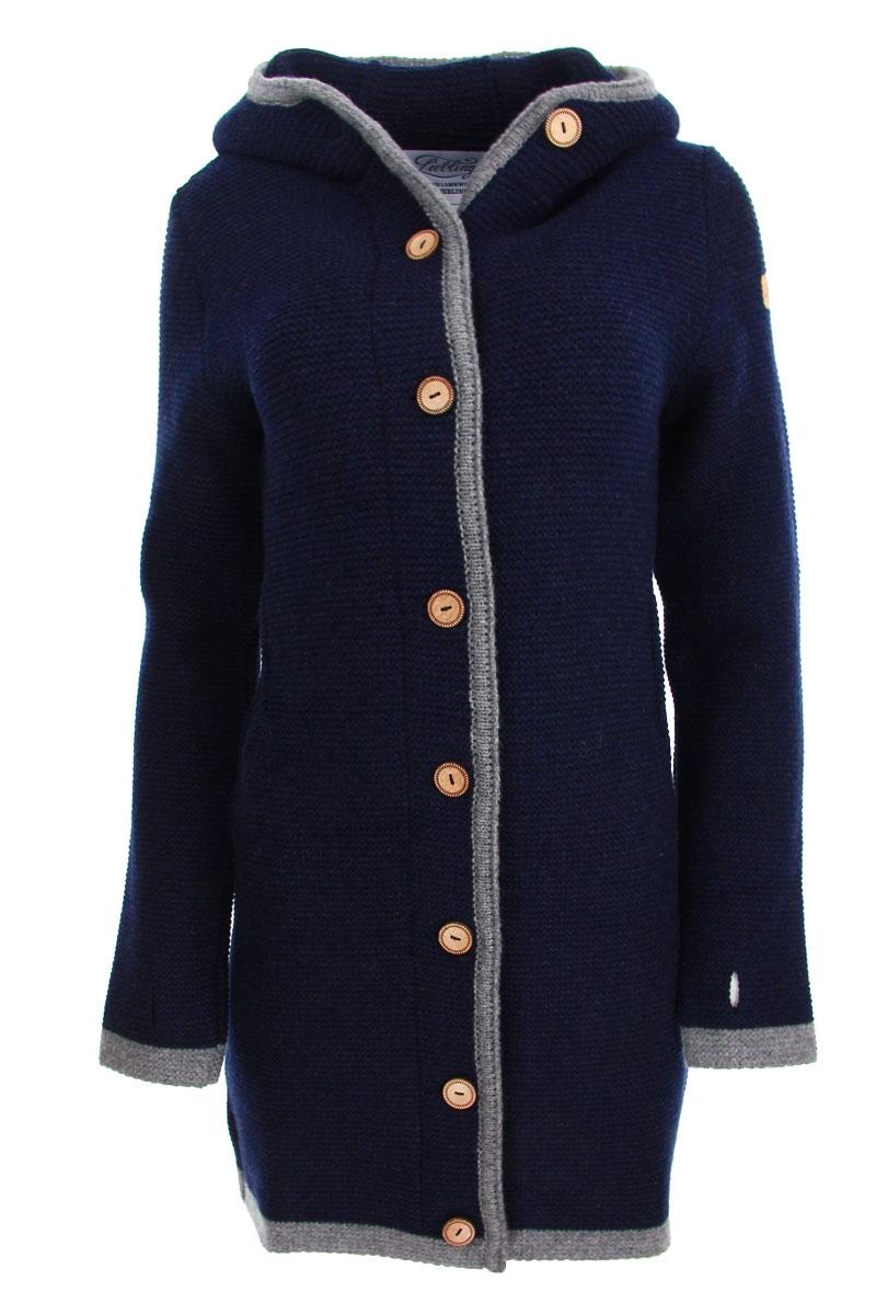 Liebling Tyrolean jacket MECIDA NAVY GRAU