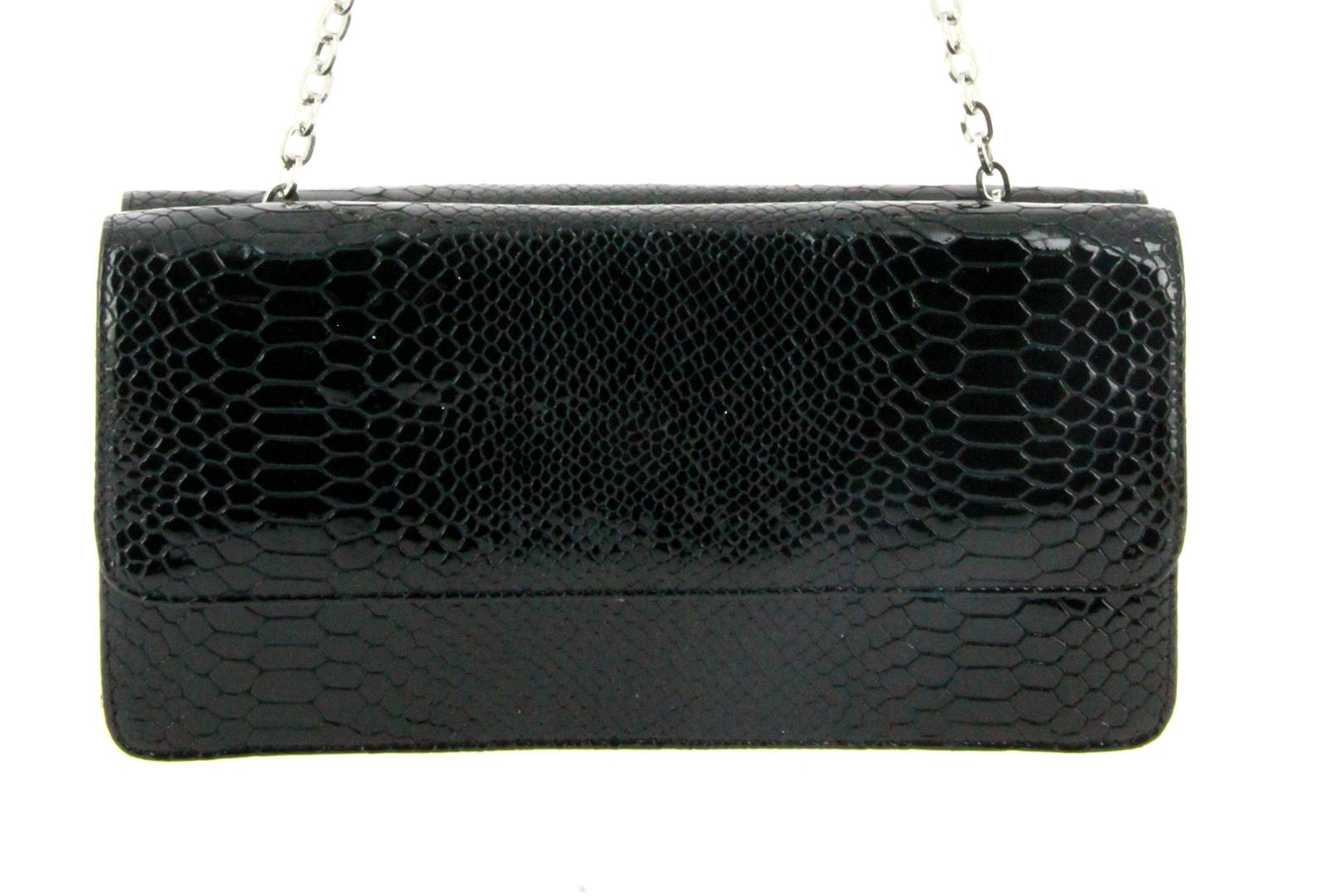 Stuart Weitzman bag DUPLEX BLACK CRYSTAL SNAKE