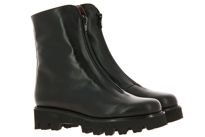 Gabriele ankle boots lined NAPPA NERO