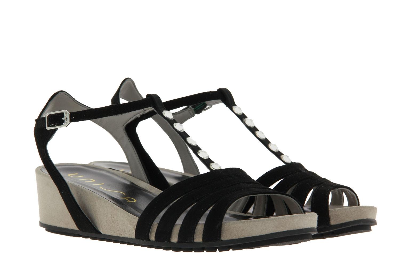Unisa sandals BETI SUEDE BLACK
