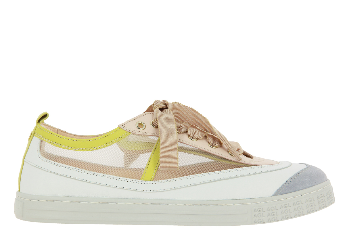 AGL Attilio Giusti Leombruni Sneaker MULTI BEIGE WHITE