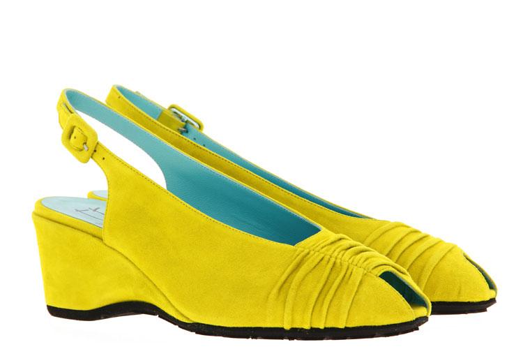 Thierry Rabotin wedge sandals CELIA CAMOSCIO CURRY