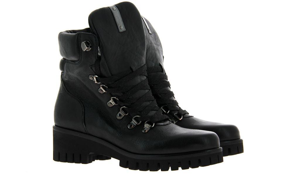 Donna Carolina ankle boots PONCHO NERO SUOLA RAY