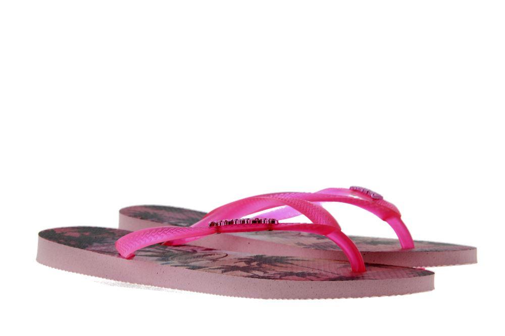 Havaianas toe sandals SLIM PAISAGE PEARL PINK