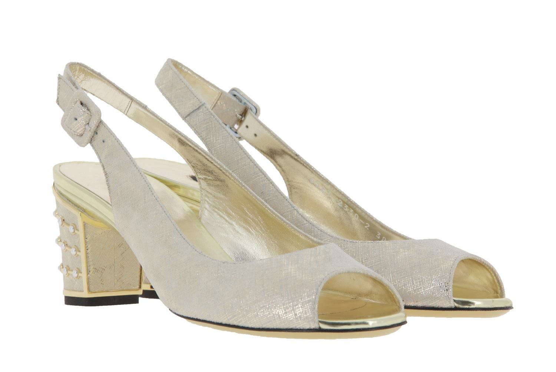 Sandro Vicari sandals COCCO PLATINO