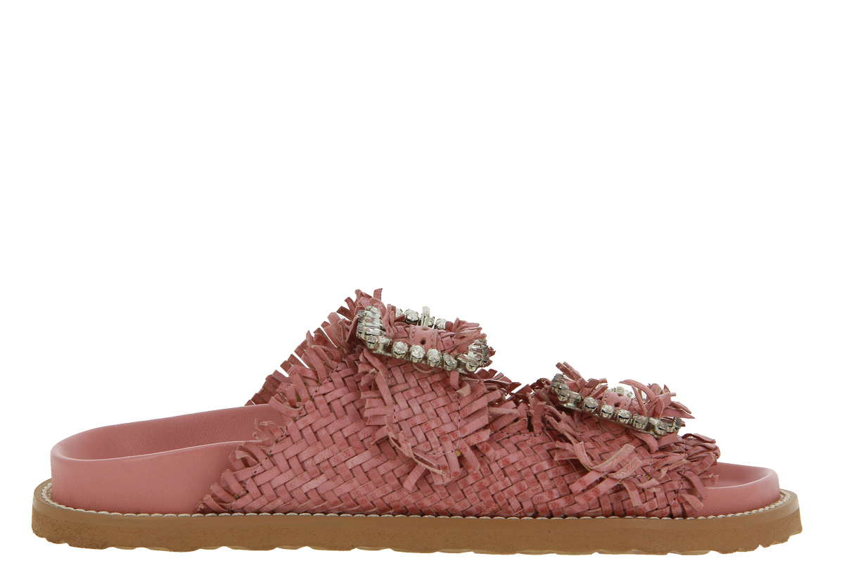 Coral Blue mules CORAL