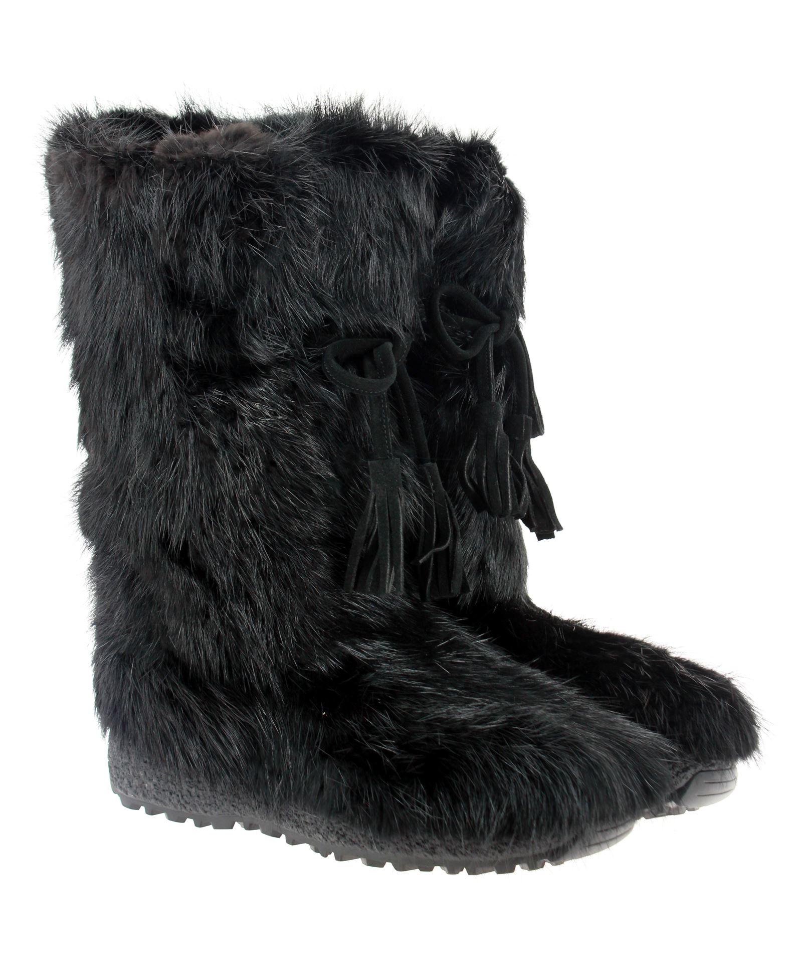 Oscar Sport men-fur bootsCASTORO-NERO