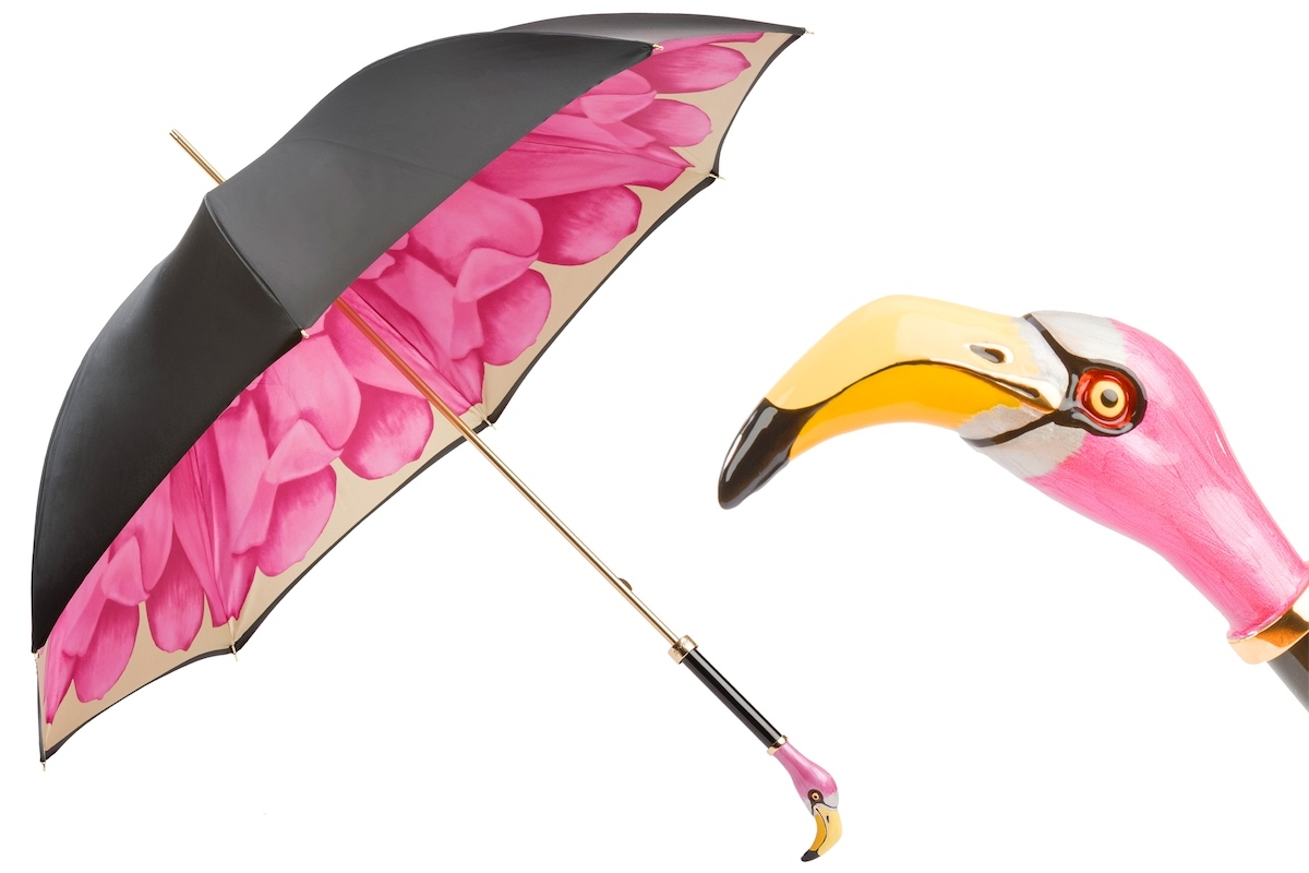 Pasotti umbrella FLAMINGO FUXIA
