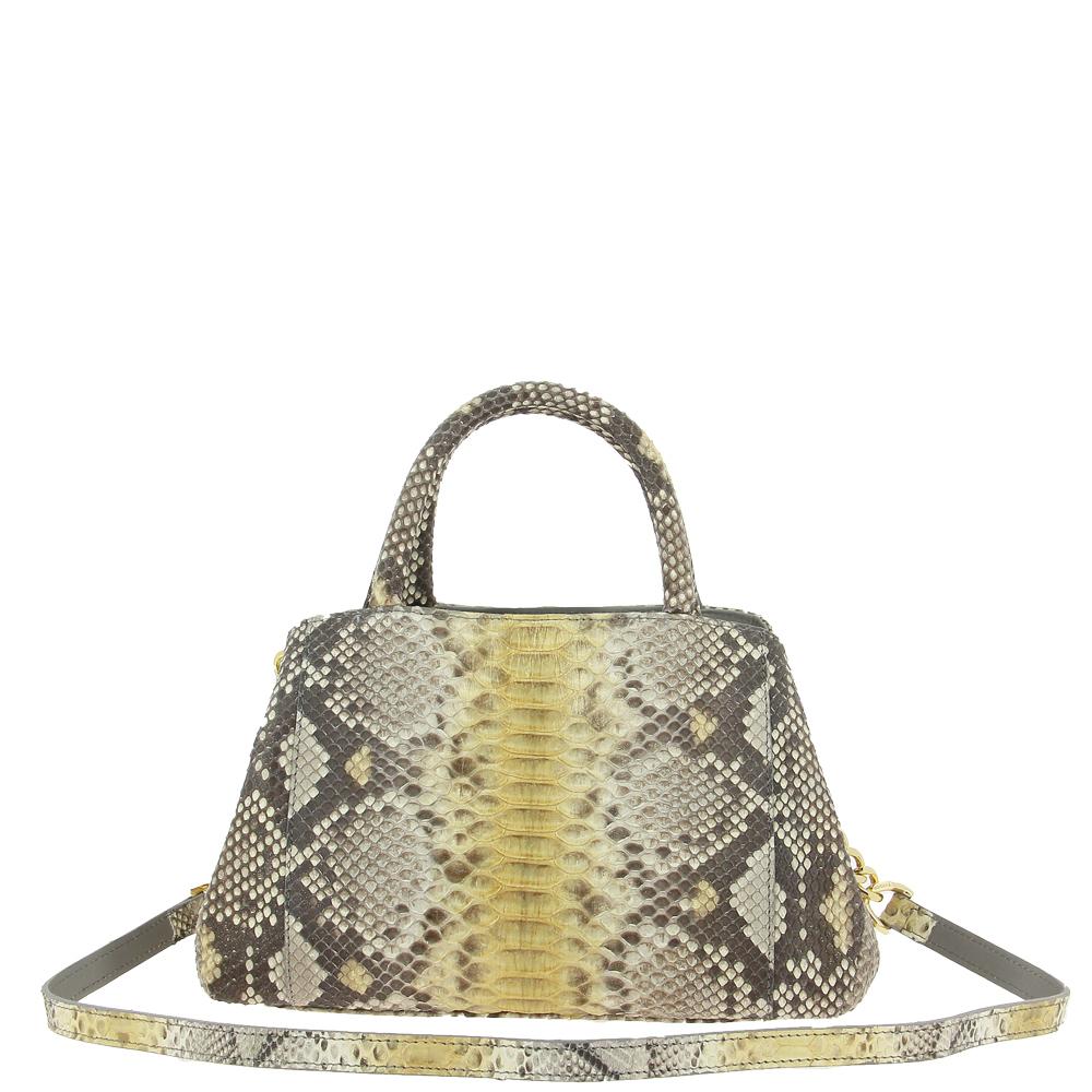 Ghibli shoulder bag PITONE BEIGE GOLD 790