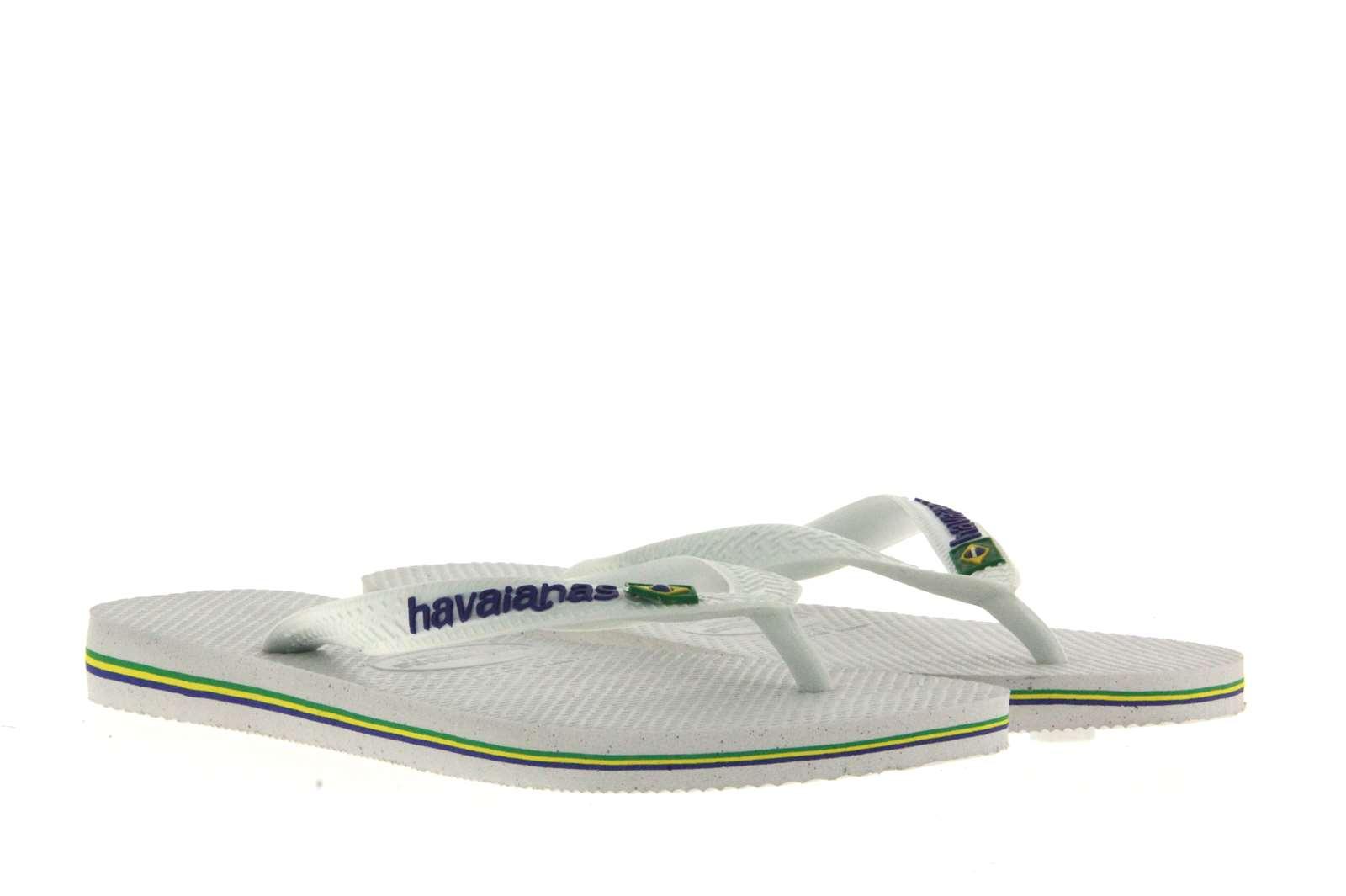 Havaianas toe sandal MEN BRASIL LOGO WHITE