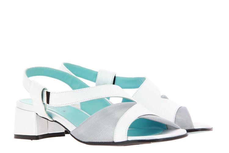 Thierry Rabotin sandals BRICE NAPPA SILVER