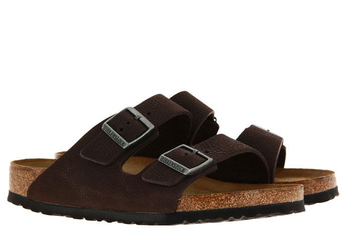 Birkenstock sandals ARIZONA NORMAL BS SOFT BROWN