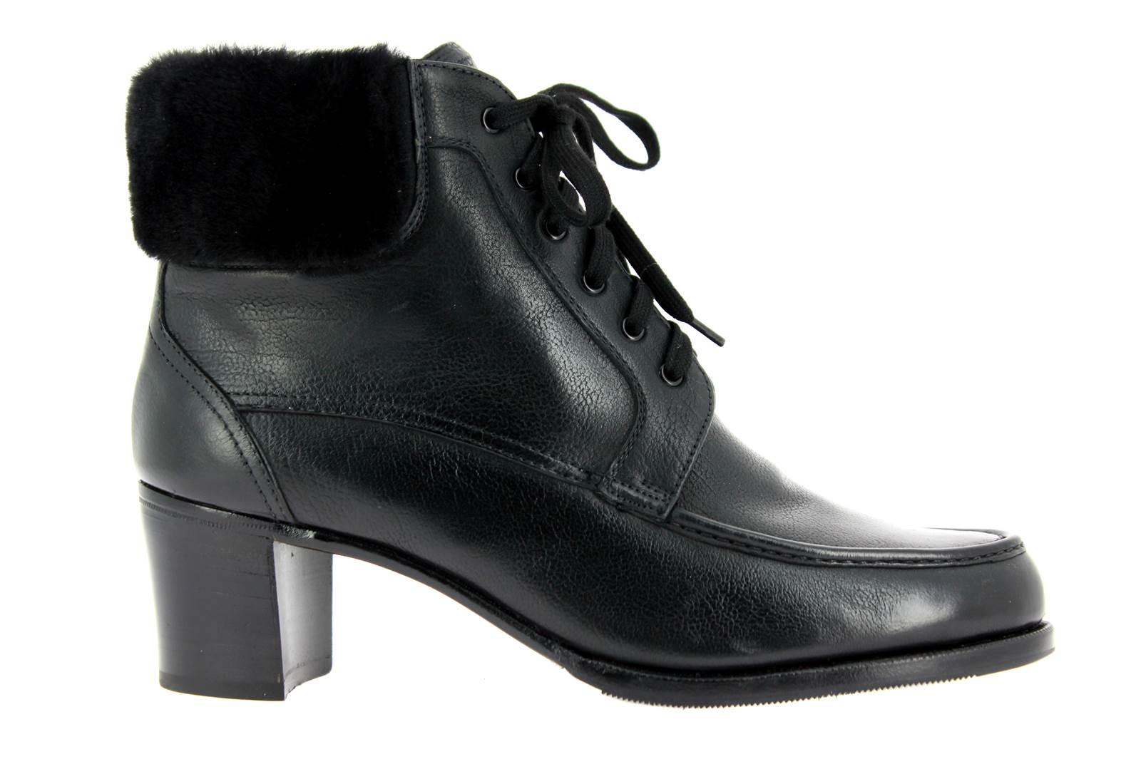 Gravati ankle boots lined CALF NERO