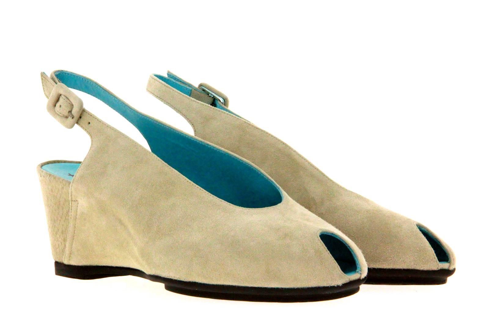 Thierry Rabotin sandal CLAYTON CAMOSCIO LIGHT IVORY