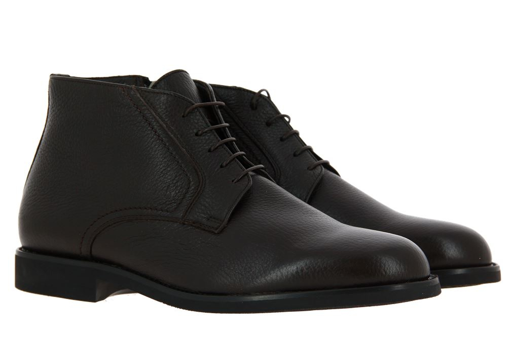 Moreschi ankle boots lined CERVO SCURO MARRONE