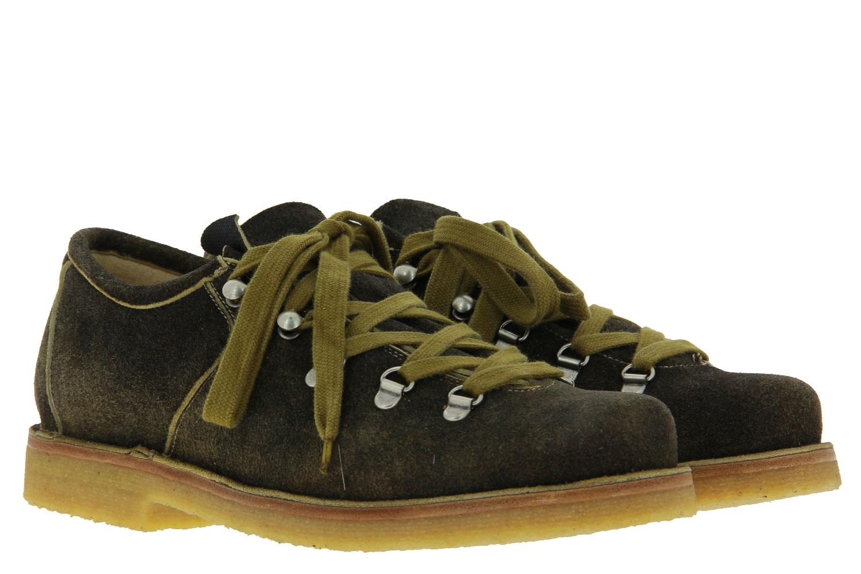 dirndl + bua traditional shoe ANTIKBOCK MOOR