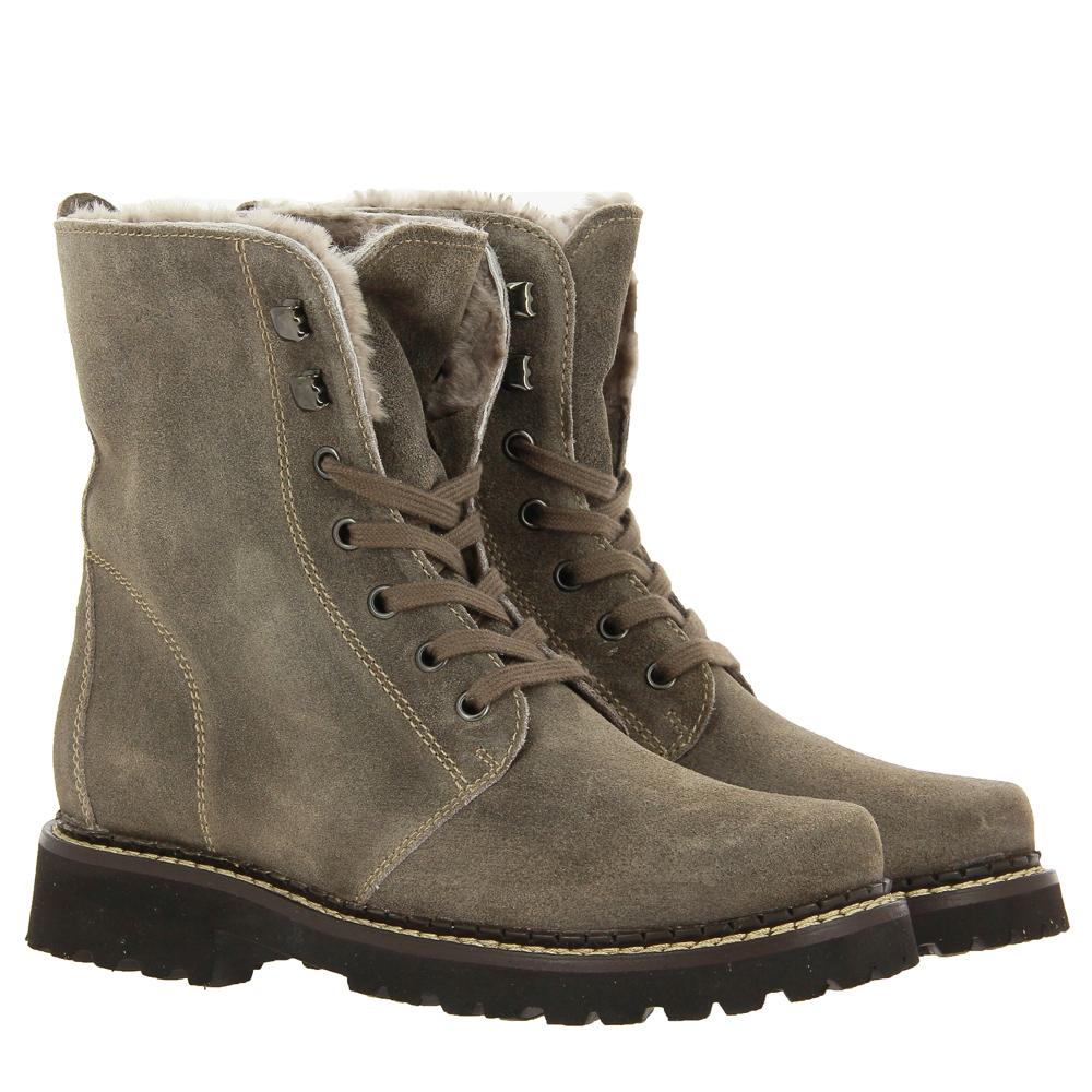 Dirndl + Bua boots lined VELOUR NATUR