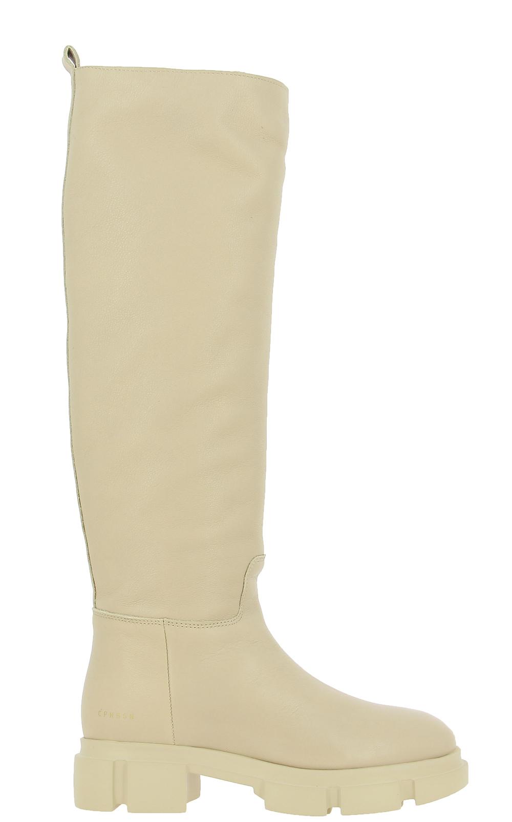 Copenhagen stretch boots CPH551 VITELLO NATURE