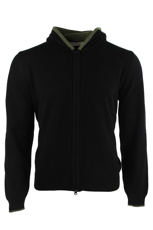 Vadrony jacket GIACCA CACHEMIRE BLACK