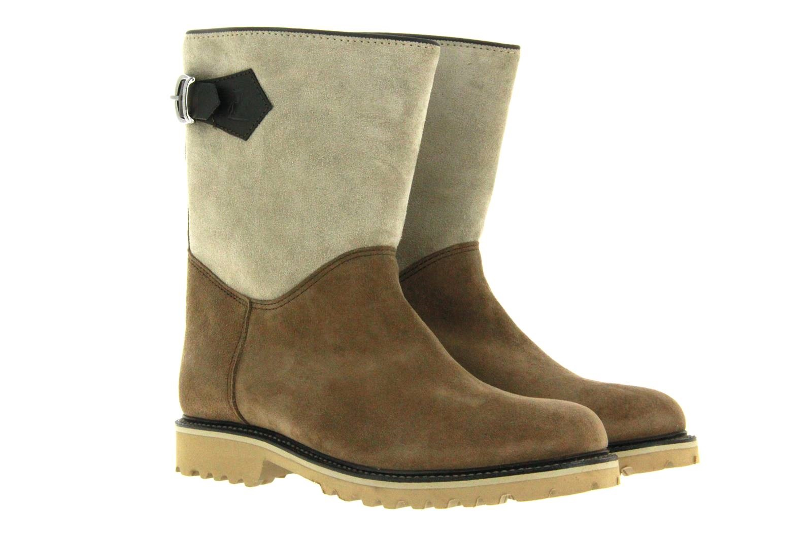 Ludwig Reiter boots lined SENNERIN VELOUR TABAC RIND QUARZ RIND