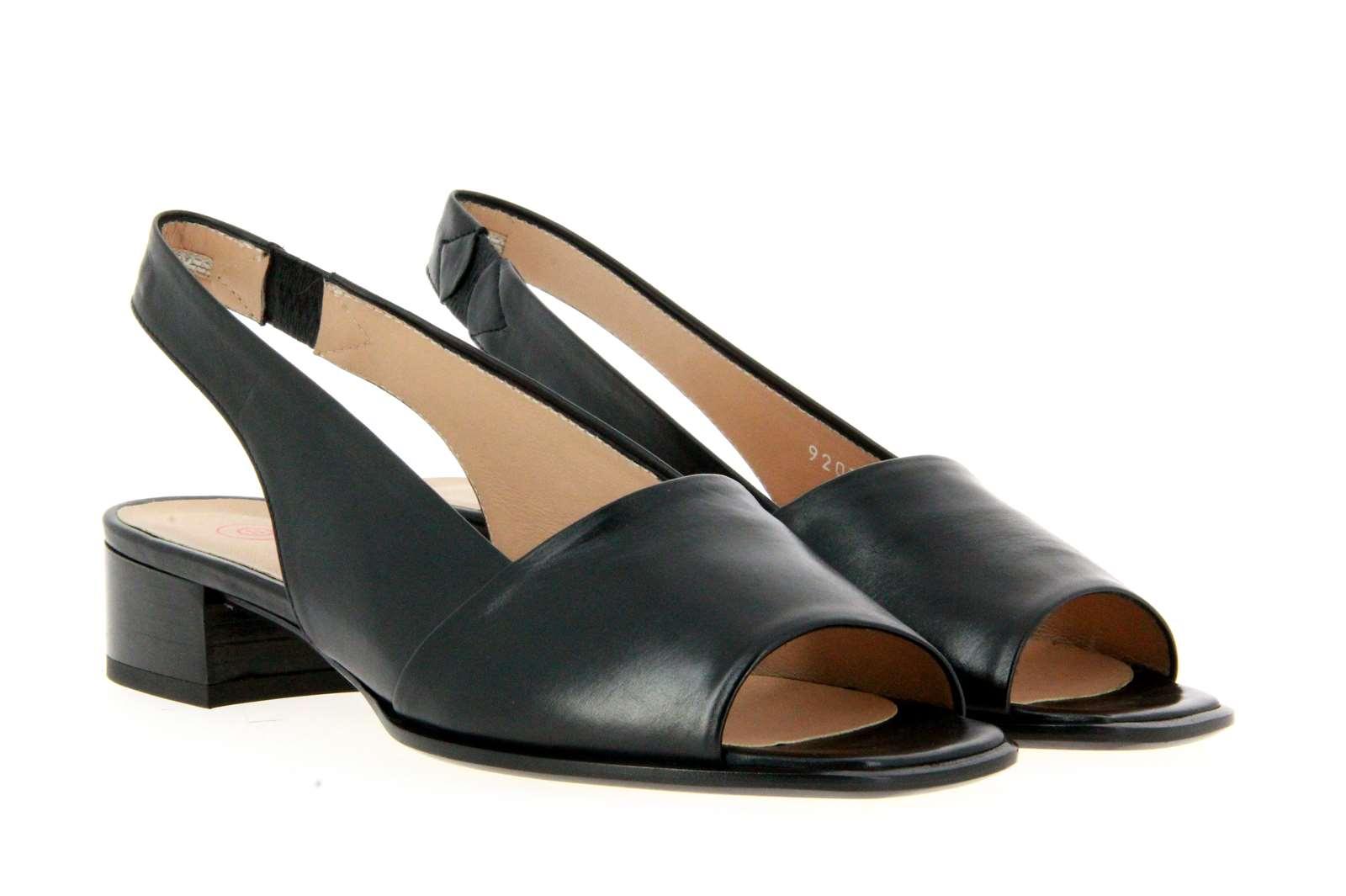 Pas de rouge sandals SOFTY NERO