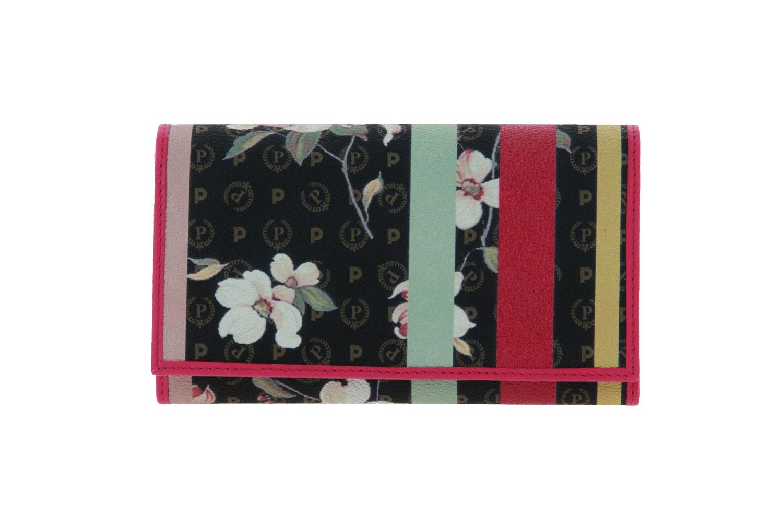 Pollini purse TAPIRO ST.FLOWER VITELLO FUXIA