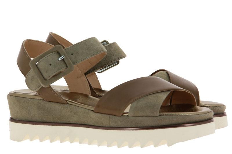 Luca Grossi sandals CAMOSCIO KAKI